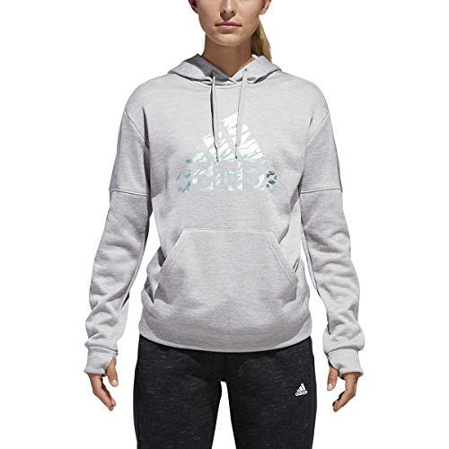 adidas Athletics Badge of Sport Camo Print Hoodie