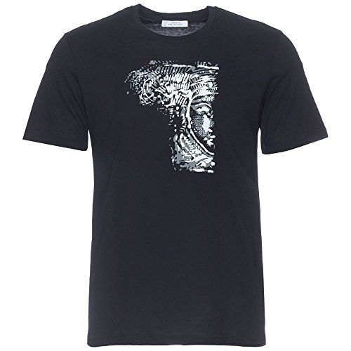 Versace Collection Black Half Medusa T-shirt (M)