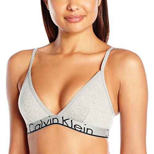 Calvin Klein Women's Id Cotton Large Waistband Triangle Unlined Bra