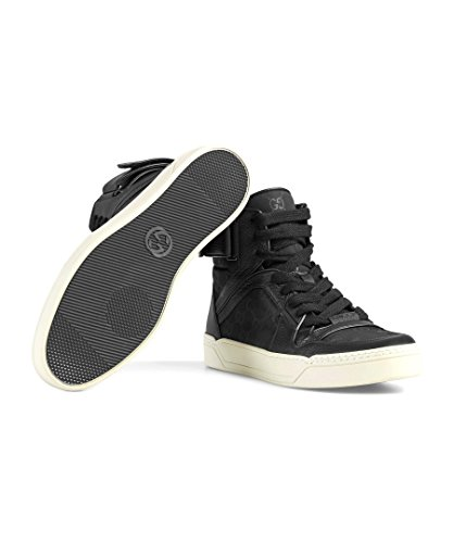 Gucci Men's Nylon Guccissima High-Top Sneaker