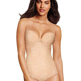 Maidenform Women's Sexy Lace Firm Control Convertible BodyBriefer