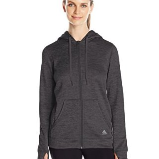 adidas Women's Team Issue Fleece Full-Zip Hoodie