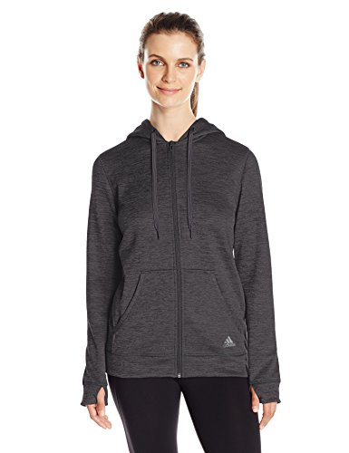 adidas Women's Team Issue Fleece Full-Zip Hoodie