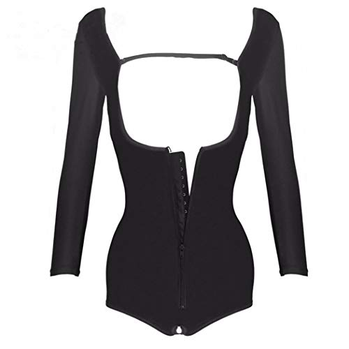 TUKURIO Women Shaper Underwear Shaper Zipper Bodysuit