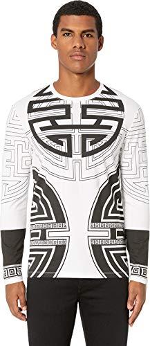 Versace Collection Men's Long Sleeve T-Shirt White Medium