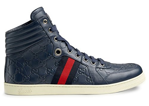 2fa91c66d0a Gucci Men s GG Guccissima Leather High-top Sneaker Clout Wear ...