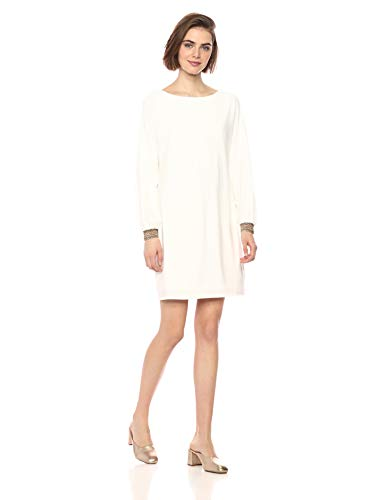 Trina Turk Women's Jazz Hands Embellished Sleeve Dress