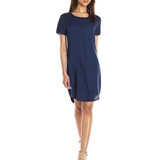 Splendid Women's Mixed Media T-Shirt Dress