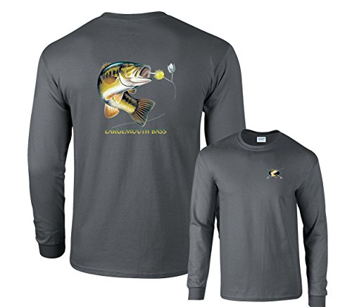 Fair Game Largemouth Bass Profile Fishing Long Sleeve