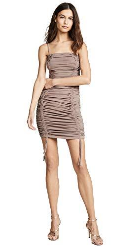 Susana Monaco Women's Ruched Thin Strap Dress