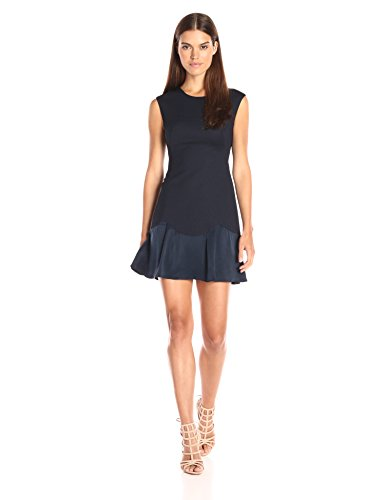 Rebecca Taylor Women's Stacy Dress, Navy 12