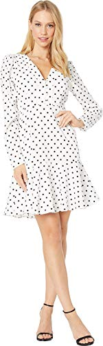 Yumi Kim Women's Spot On Dress Swing Dot White Medium