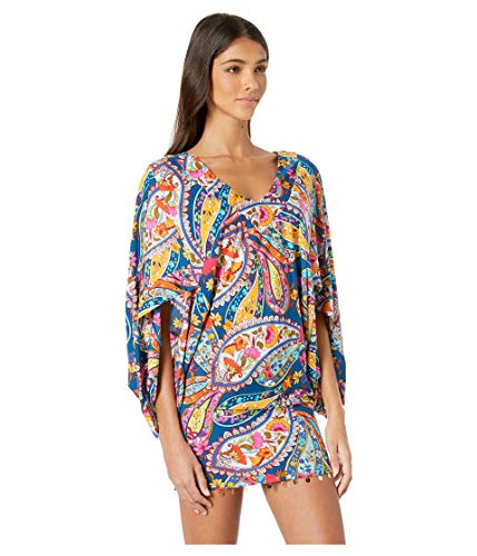 2967ad39d41 Trina Turk Women's V-Neck Tunic Dress Clout Wear Fashion for Womens ...