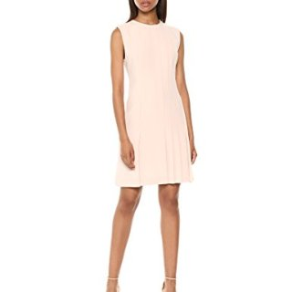 Theory Women's Sleeveless Pleated Day Dress