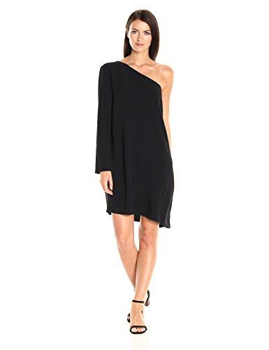 Theory Women's Sintsi_Rosina Crepe Dresses, Black