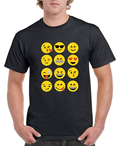 Emoji Domination Trend T-Shirt for Men