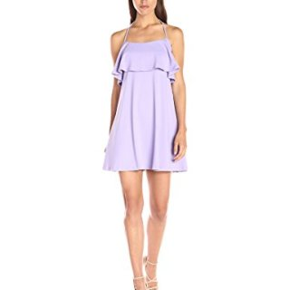 Susana Monaco Women's Zola Dress, Wisteria, Medium