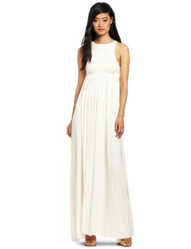 Rachel Pally Women's Anya Maxi Dress, White Large
