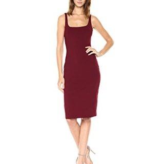 Susana Monaco Women's Tank Dress, Oxblood XS