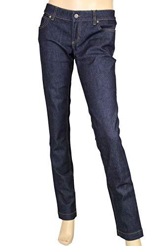 Gucci Legging Jeans Dark Blue Cotton Elastane Denim Pants
