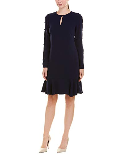 Shoshanna Women's Wyvis Dress, Navy 6
