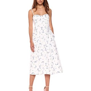 Rebecca Taylor Women's Sleeveless Francine Poplin Dress