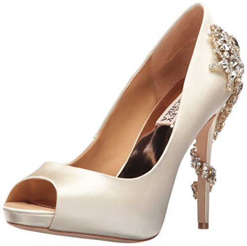 Badgley Mischka Women's Royal Dress Pump, Ivory