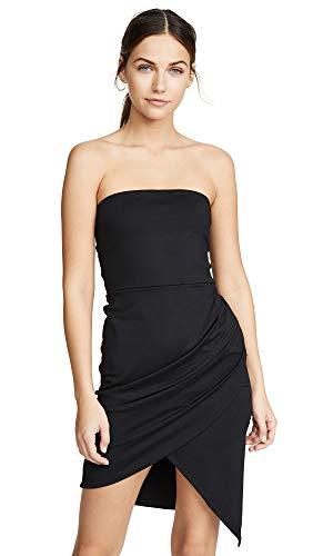 Susana Monaco Women's Strapless Side Pleat Dress