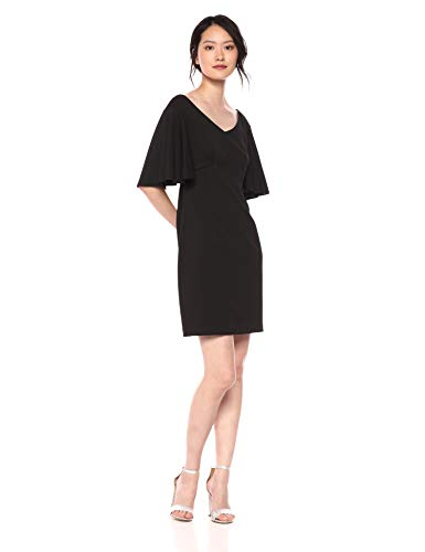 Trina Trina Turk Women's Cielo Draped Sleeve Shift Dress