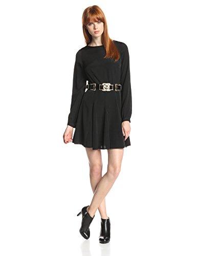 StyleStalker Women's Love Train Long Sleeve Dress