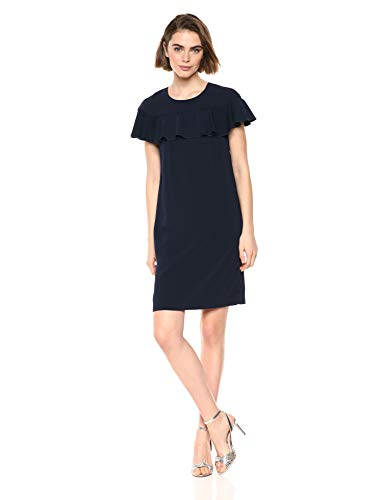 Trina Trina Turk Women's Charleston Ruffle Front Dress