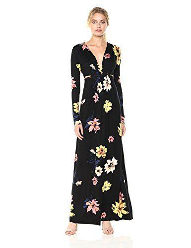 Rachel Pally Women's Long Sleeve Full Length Caftan