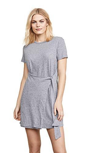Monrow Women's Dress w/Tie Granite Extra Small