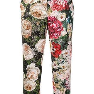 Dolce e Gabbana Women's Multicolor Cotton Pants