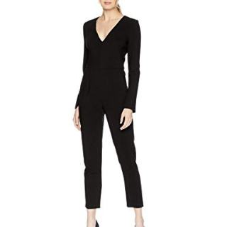 Black Halo Women's Sambora Jumpsuit, Black 4