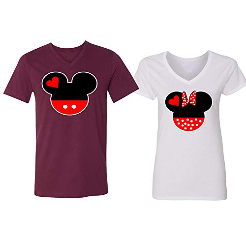 9c9098920 Disney Mickey Minnie Mouse Head Family Couple Design Clout Wear Fashion for  Womens, Fashion for Mens, Fashion for Kids