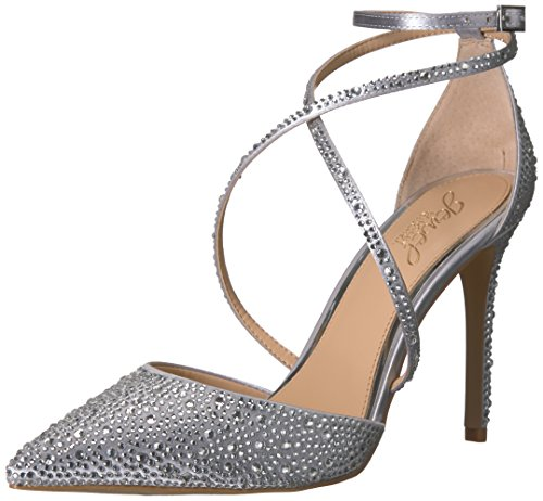 Badgley Mischka Jewel Women's Tanya Pump, Silver