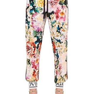 Dolce e Gabbana Women's Multicolor Viscose Joggers