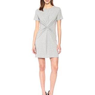 Theory Women's Short Sleeve Knot TEE Dress
