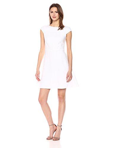 Theory Women's Linen Cap Sleeve Shift Dress