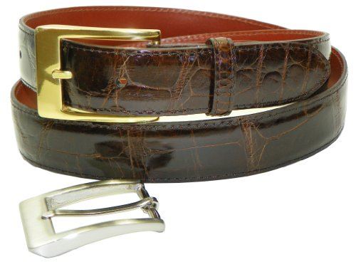 Genuine American Alligator Belt by Charles Underwood