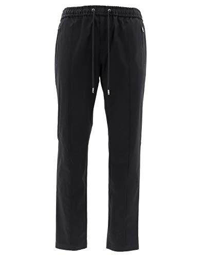 Dolce e Gabbana Women's Gyacetfufisn0000 Black Cotton Pants