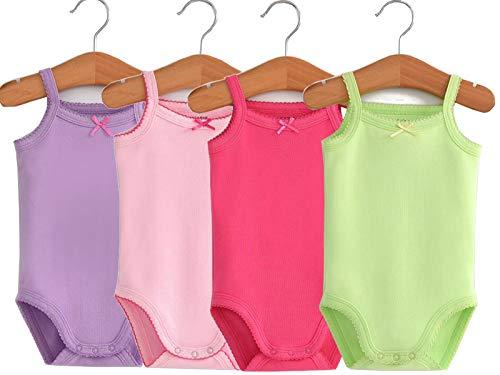 Unisex-Baby Sleeveless Onsies Tank Top Cotton Baby Bodysuit