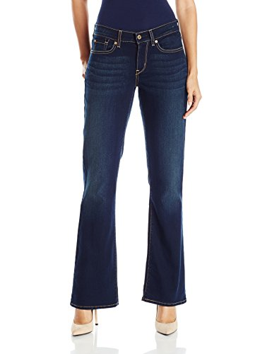Signature by Levi Strauss & Co Women's Curvy Boot Cut Jeans