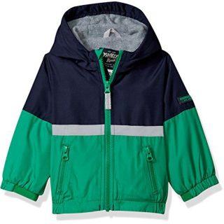 Osh Kosh Baby Boys Midweight Fleece Lined Jacket
