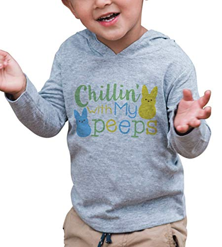 7 ate 9 Apparel Baby Boy's Chillin with My Peeps Easter Hoodie