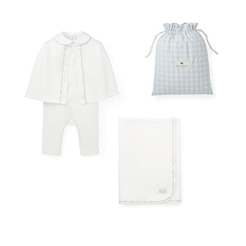 Hope & Henry Layette Ivory Quilted Gift Set