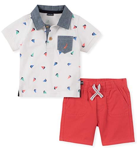 Nautica Sets (KHQ) Baby Boys 2 Pieces Polo Shorts Set