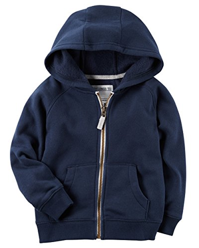 Carters Boys Classic Fleece Zip-Up Hoodie