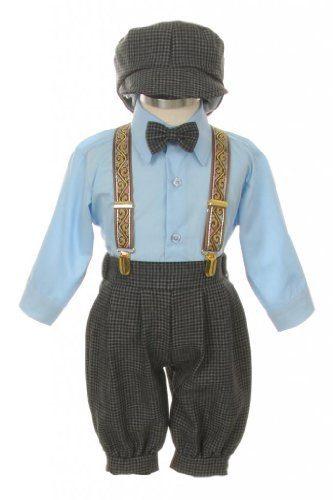 Vintage Dress Suit-Bowtie,Suspenders,Knickers Outfit Set